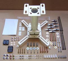 ⑤プロジェクター天井取付金具と延長棒 PM-240(10kg以下プロジェクター用)