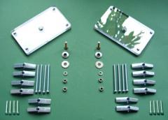 スクリーン設置用透明板 SB-140A (2個1組)