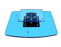 ⑨三菱HC3800、HC4000、LVP-HC7800D / DW、HC7900DW、HC8000D / SONY 3D VPL-HW30ES / HW35ES / HW55ES天井設置用密着型専用金具タイプPM-55