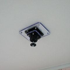天井設置用ミニLEDプロジェクター金具PM-110