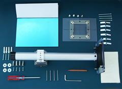 プロジェクター用反射鏡+天井取付金具とパイプPM-400G(5種類サイズ)