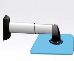 中、大型級 プロジェクター壁取付用金具 GPC-4060