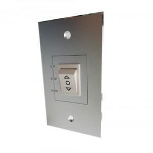 電動スクリーン壁用埋込みスイッチ