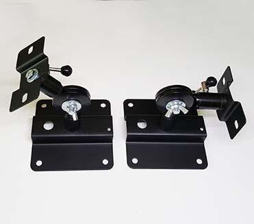 天井壁面取付可能な中型スピーカー金具SB-150B (2本)