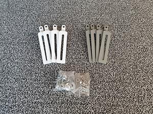 プロジェクター脚部分 (4個1セット)(13,5cm)(ホワイト,グレー,アイボリー色)