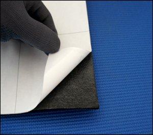 プロジェクター用遮光付接着シート地(1個:幅91cm x長さ50cm)