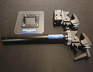 エクステンション Arm ポール用金具 APC-320S /専用ブラケット /金具色ブラック